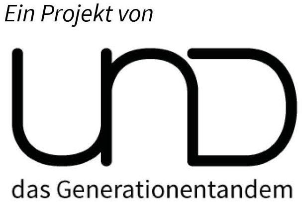 Ein Projekt von UND das Generationentandem