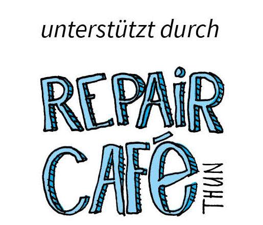 Unterstützt durch Repair Café Thun